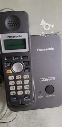 تلفن پاناسونیک بی سیم سالم در گروه خرید و فروش لوازم الکترونیکی در تهران در شیپور-عکس1