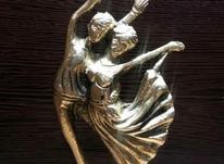 مجسمه برنجی زوج بالرین در شیپور-عکس کوچک