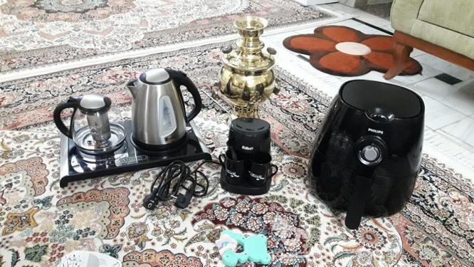 سماور برنجی 4 لیتری در گروه خرید و فروش لوازم خانگی در تهران در شیپور-عکس1