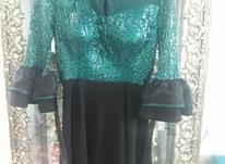 لباس مجلسی مزونی پولکی سایز 40_42 در شیپور-عکس کوچک