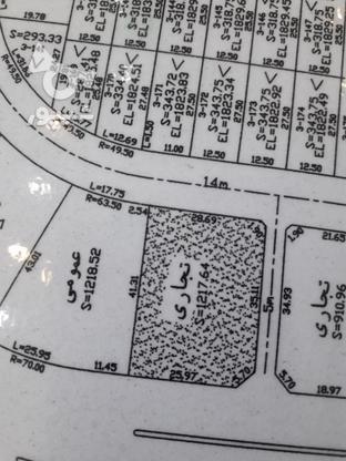 زمین تجاری صددرصد 1215متر در گروه خرید و فروش املاک در تهران در شیپور-عکس1