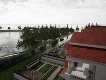 ویلا/برساحل/560متری/زیباکنار/استخردار در شیپور