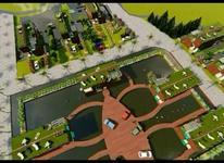 زمین با امکانات وشرایط ویژه وگسترده منطقه آزاد در شیپور-عکس کوچک