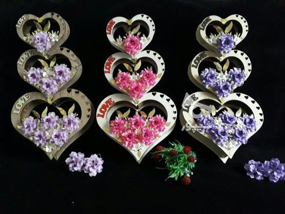 باکس قلب سه تیکه گلارایی شده در گروه خرید و فروش لوازم خانگی در خراسان رضوی در شیپور-عکس1