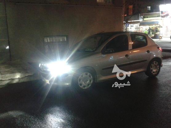 پژو 206  تیپ 3 مدل 84 در گروه خرید و فروش وسایل نقلیه در تهران در شیپور-عکس1