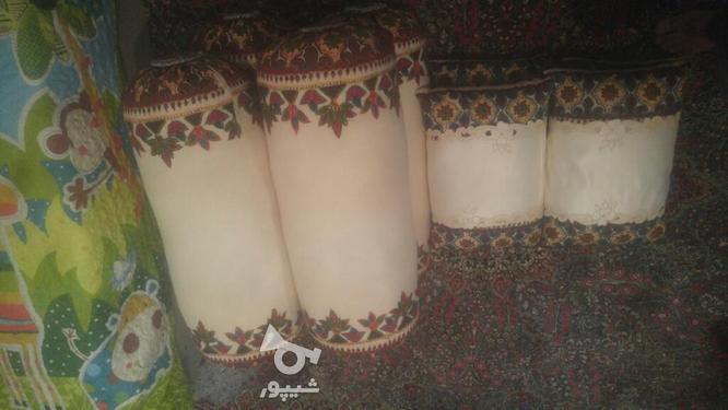 متکا لوله ای 2 جفت. ناز بالشت 2جفت. پته در گروه خرید و فروش لوازم خانگی در کرمان در شیپور-عکس1