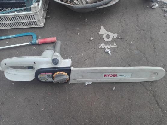 اره چوب بری برقیRyobi 400mm در گروه خرید و فروش صنعتی، اداری و تجاری در تهران در شیپور-عکس1