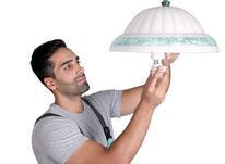 نصب و تعمیر لوستر و انواع چراغ در شیپور-عکس کوچک