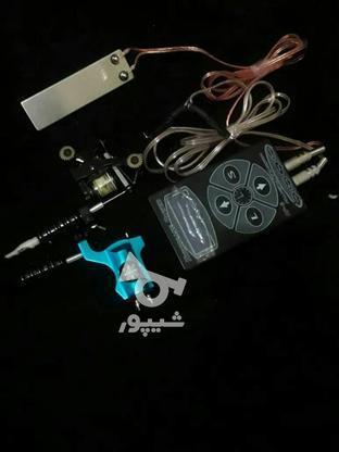 دستگاه تاتو   شامل : گان  روتاری.  ترانس. کابل. دوعدد پدال   در گروه خرید و فروش لوازم شخصی در مازندران در شیپور-عکس1