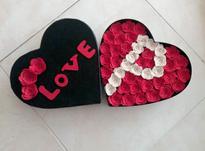 جعبه هدیه باکس گل ولنتاین در شیپور-عکس کوچک