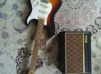 گیتار الکتریک همراه با امپلی فایر ( یاماها ؛ وکس ) در شیپور-عکس کوچک