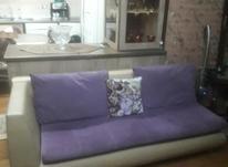 مبل طرح ال با دوعدد صندلی میزبان و 6 عدد کوسن تمیز در شیپور-عکس کوچک