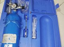 کپسول اکسیژن بیمار در شیپور-عکس کوچک
