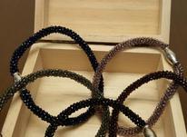 دستبند  بافتی کریستال  در شیپور-عکس کوچک