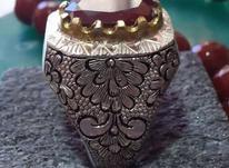 انگشتر یاقوت سیلان (گارنت) در شیپور-عکس کوچک