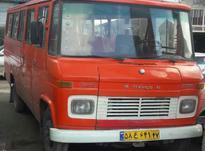 مینی بوس بنز قرمز در شیپور-عکس کوچک
