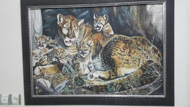 تابلو نقاشی رنگ روغن  در گروه خرید و فروش لوازم خانگی در البرز در شیپور-عکس1
