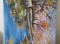 تابلو نقاشی کار دست برجسته در شیپور-عکس کوچک