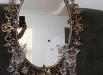 آینه و شمعدان برنز در شیپور-عکس کوچک
