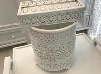 ست نو جا دستمال و سطل در شیپور-عکس کوچک