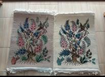 یک جفت قالیچه دستبافت تابلویی تابلو فرش در شیپور-عکس کوچک