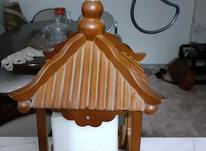 لوستر تکی چوبی در شیپور-عکس کوچک