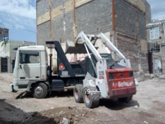 اجاره بابکت.خاکبرداری.گودبرداری در گروه خرید و فروش وسایل نقلیه در تهران در شیپور-عکس1