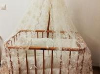 تخت گهواره ای نوزاد با تشک و تور در شیپور-عکس کوچک