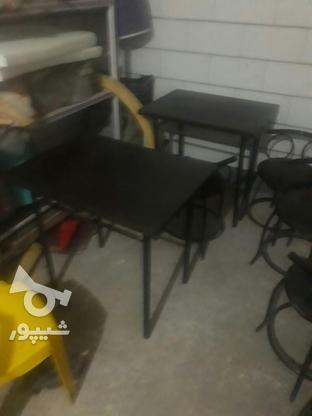 شش صندلی چرم دومیزام دی اف  در گروه خرید و فروش صنعتی، اداری و تجاری در خوزستان در شیپور-عکس1