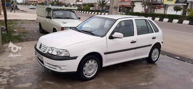 فولکس واگن گل 1385 سفید در گروه خرید و فروش وسایل نقلیه در مازندران در شیپور-عکس1
