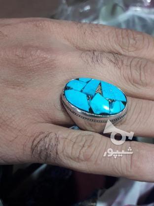 انگشتر فیروزه  در گروه خرید و فروش لوازم شخصی در خوزستان در شیپور-عکس1