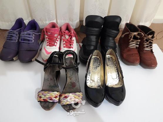 کفش سایز 38  در گروه خرید و فروش لوازم شخصی در تهران در شیپور-عکس1