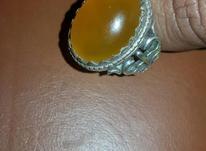 انگشتر عقیق لانه زنبوری در شیپور-عکس کوچک