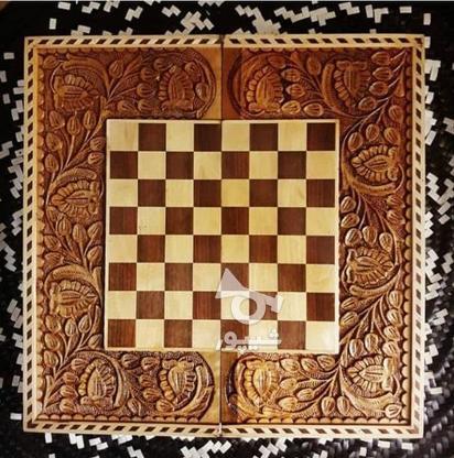 تخته نرد و شطرنج پرداخت درب منزل در گروه خرید و فروش ورزش فرهنگ فراغت در آذربایجان شرقی در شیپور-عکس1