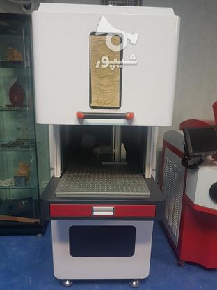 دستگاه لیزر فایبر حکاکی و برش فلزات  در گروه خرید و فروش صنعتی، اداری و تجاری در تهران در شیپور-عکس2