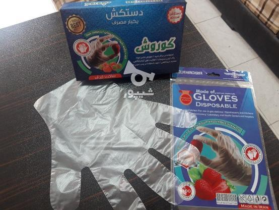 دستکش یکبار مصرف در گروه خرید و فروش خدمات و کسب و کار در تهران در شیپور-عکس1