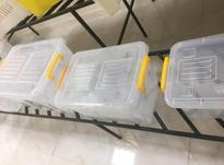 جعبه پلاستیکی چرخ دار -صندوق پلاستیکی چرخدار در شیپور-عکس کوچک