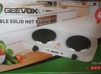 اجاق برقی 2شعله geevox/اجاق برقی/هیتر/هیتر برقی در شیپور-عکس کوچک