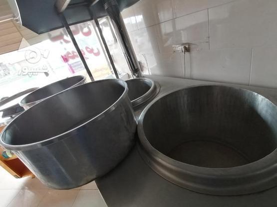 دستگاه سه دیگ آشپزی آش و حلیم  در گروه خرید و فروش صنعتی، اداری و تجاری در اصفهان در شیپور-عکس1