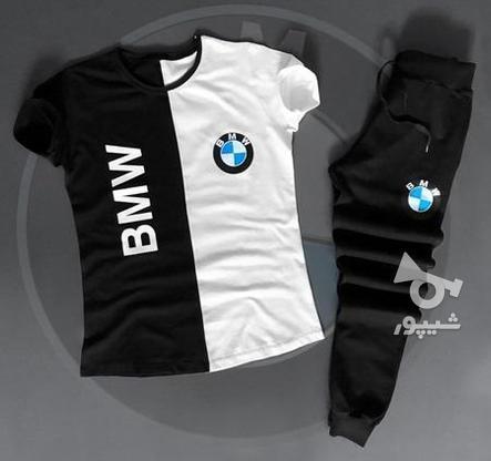 ست تی شرت و شلوار BMW آستین کوتاه در گروه خرید و فروش لوازم شخصی در تهران در شیپور-عکس1