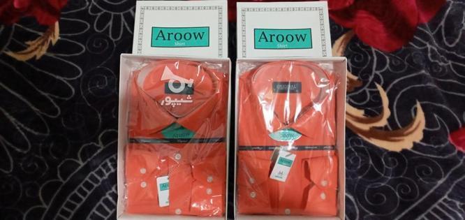 دو عدد  پیراهن  مارک ARROW  در گروه خرید و فروش لوازم شخصی در اردبیل در شیپور-عکس1