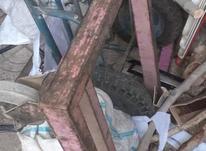 دو عدد گاری کفی چهار چرخ  در شیپور-عکس کوچک