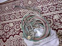 یک عدد سر پیک همراه با 18 متر شیلنگ و مالیمتر بفرو در شیپور-عکس کوچک