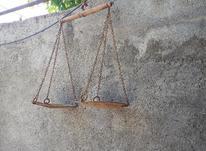 یک عدد ترازو قدیمی قپون یک جفت کمک زربه دیده  در شیپور-عکس کوچک