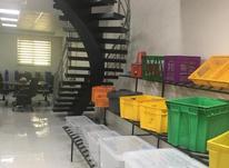 جانونی بزرگ چرخ دار-ظروف درب دار پلاستیکی-صندوق چرخدار در شیپور-عکس کوچک