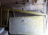 درب آهنی تک لنگه در شیپور-عکس کوچک