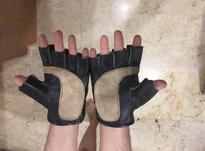 دستکش های نیم پنجه چرمی آکبند در شیپور-عکس کوچک