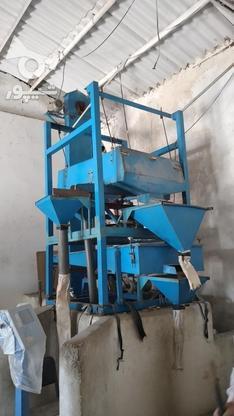 دستگاه بوجاری برنج و غلات در گروه خرید و فروش صنعتی، اداری و تجاری در مازندران در شیپور-عکس2