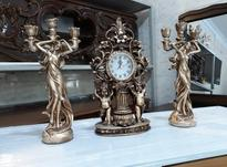 ساعت و شمعدان طلایی در شیپور-عکس کوچک