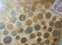 تعدادی سکه و اسکناس قدیمی و نو کلکسیونی یکجا  در شیپور-عکس کوچک